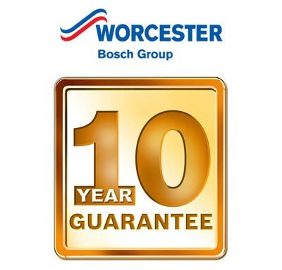 Up to 10 Year Warranties on Worcester Bosch Boilers